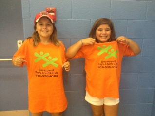 St. Luigi's Boys and Girls club campers