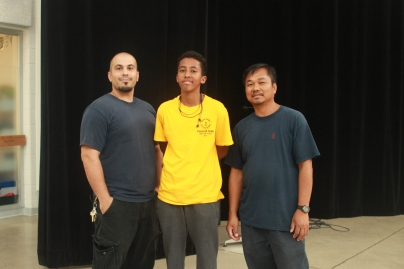 FOY Staff Abraham and the custodians
