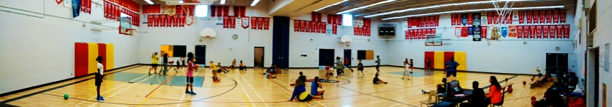 An exciting game of Dr. Dodgeball!
