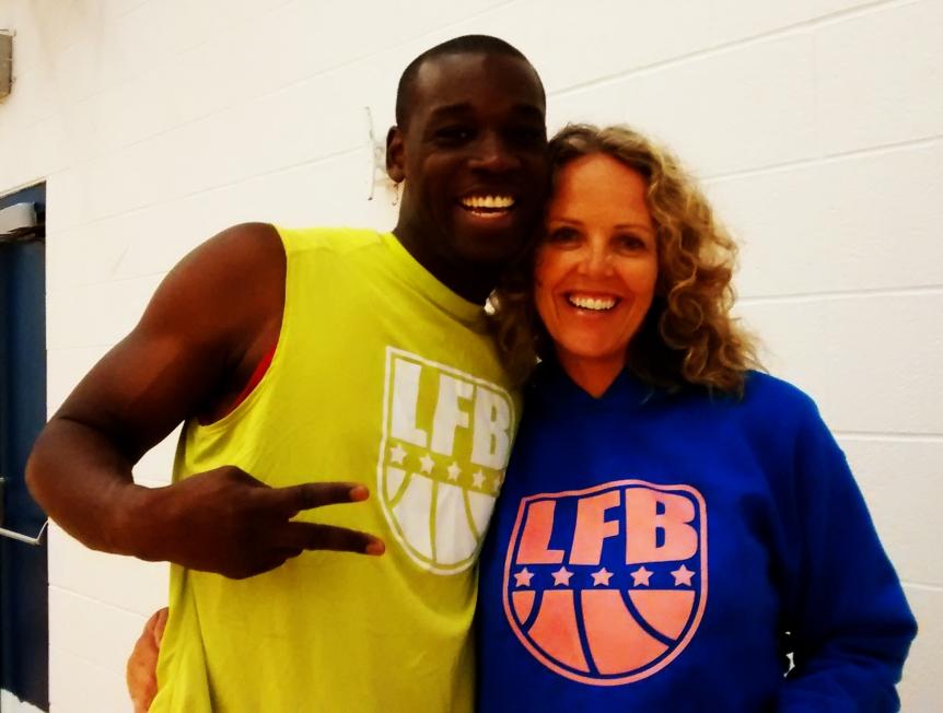 Live For Ball supervisors Isaac King and Katrina Sorra