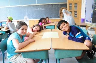 Campers in their Leadership Workshop!
