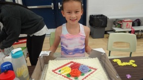 Celebrated Jasmine's birthday!