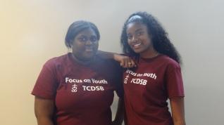 Leadership staff: Tiana (BMT) and Renee (Neil)