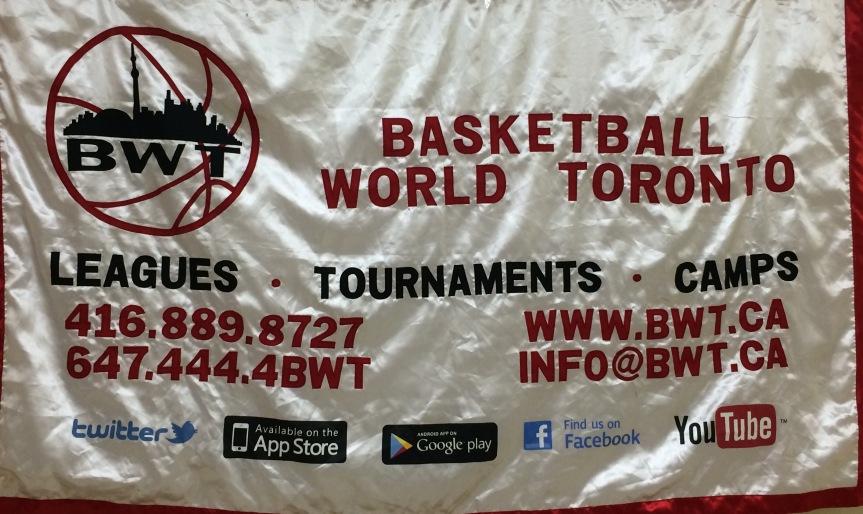 Basketball World Toronto Logo