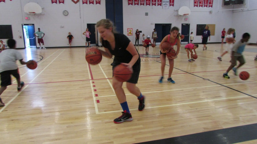 Dribbling gets harder and harder