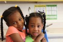 Siblings at camp are creating strong bonds with each other!