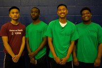 FOY Staff (Left to Right) : Ronald (Libermann), Kerohn (Grad), JC (Neil), Chad (BMT)
