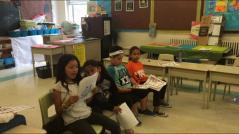 Sharing their work