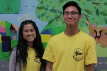 FOY Staff: Marielle Dilla (SMT) and Kurt Haya (Libermann)