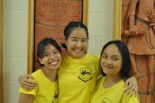 FOY Staff (L-R): Justine Rosario, Karen Tseng, Bethanie Manaois (all LIBERMANN Centre)