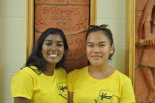 FOY Staff (L-R): Issabella Thurai (LIBERMANN) & Mariane Sabino (LIBERMANN)