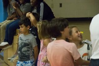 Enjoying a fun day at summer camp!